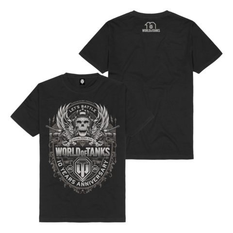 √10 Years Anniversary von World Of Tanks - t-shirt jetzt im World of Tanks Shop