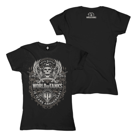 √10 Years Anniversary von World Of Tanks - Girlie Shirt jetzt im World of Tanks Shop