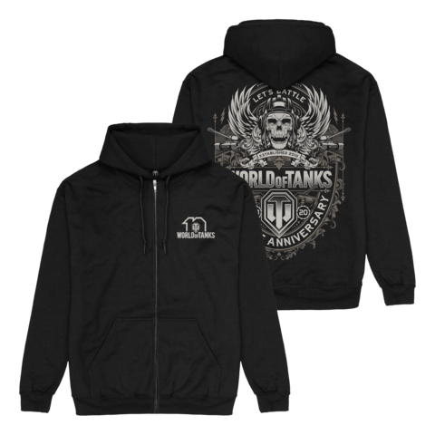 √10 Years Anniversary von World Of Tanks - Hooded jacket jetzt im World of Tanks Shop
