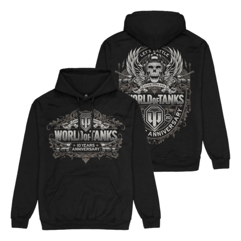 √10 Years Anniversary von World Of Tanks - Hood sweater jetzt im World of Tanks Shop
