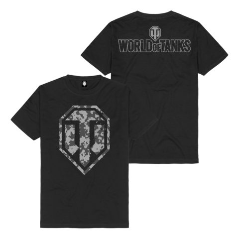√Camo Logo von World Of Tanks - t-shirt jetzt im World of Tanks Shop