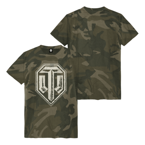 √Camo All Over Logo von World Of Tanks - t-shirt jetzt im World of Tanks Shop