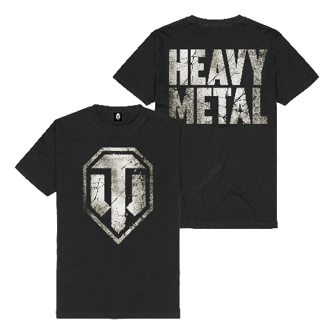 √Heavy Metal Logo von World Of Tanks - t-shirt jetzt im World of Tanks Shop