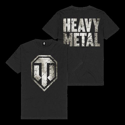 √Heavy Metal Logo von World Of Tanks - t-shirt jetzt im World of Tanks Shop