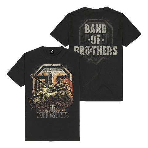 √Band of Brothers von World Of Tanks - t-shirt jetzt im World of Tanks Shop