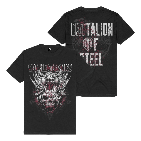 √Battalion of Steel von World Of Tanks - t-shirt jetzt im World of Tanks Shop