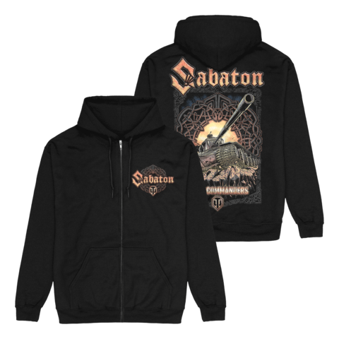 x SABATON Steel Commanders by World Of Tanks - Hooded jacket - shop now at World of Tanks store